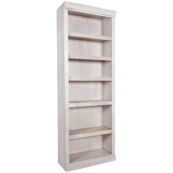 84 Bookcase White Glaze Df3084 Wg Df3084wg Kurio King Afw