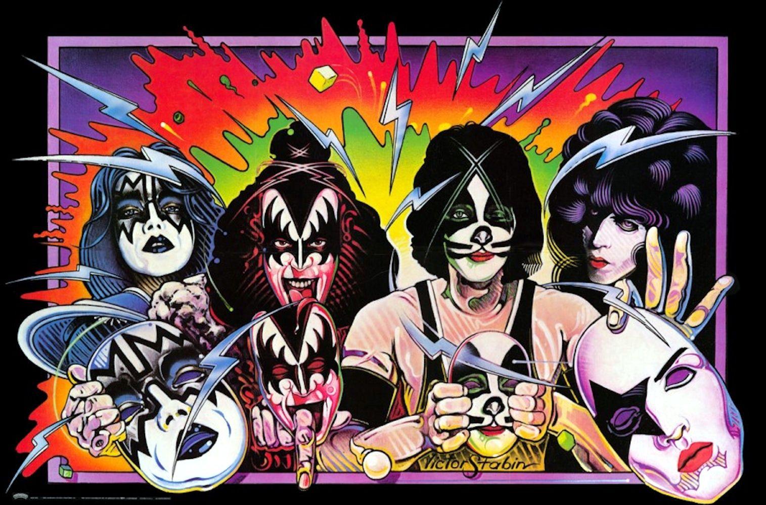 Kiss Unmasked Poster Kiss Rock Bands Kiss Art Hot Band