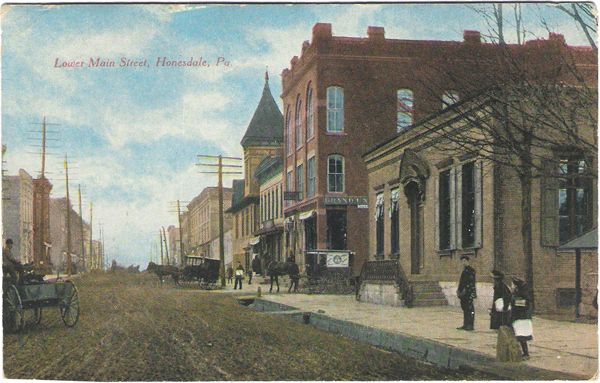Image detail for -Main St. Honesdale, Pa