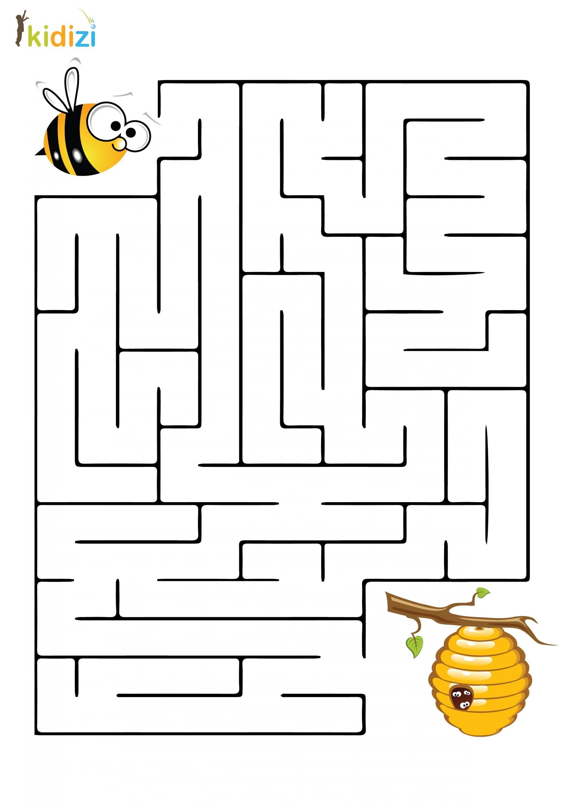 Plansa Educativa Labirint 8 Insects