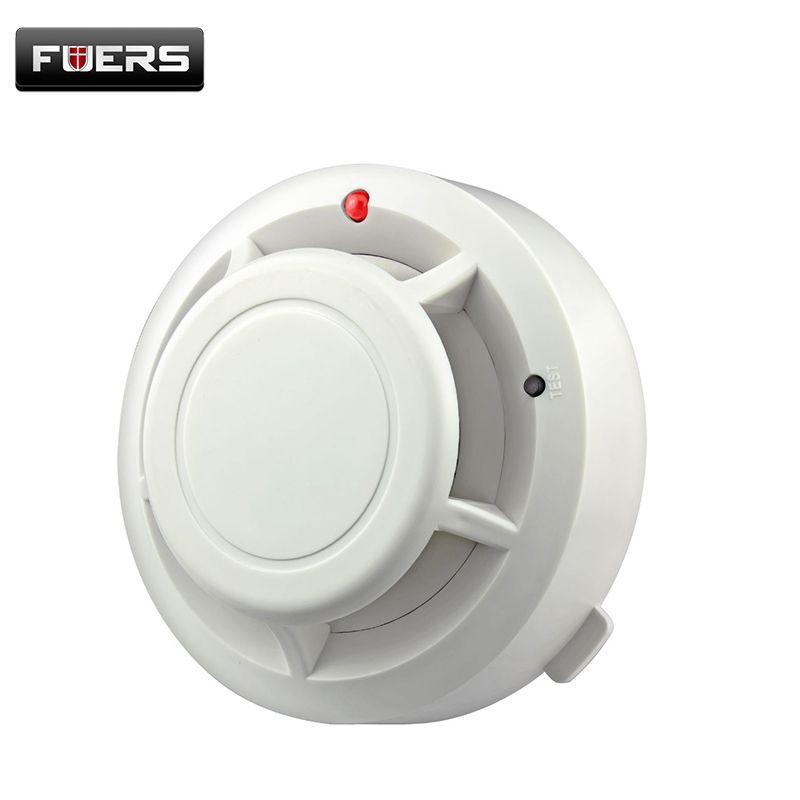 433 MHZ Sem Fio de Fumaça Sensor Detector de Sistema De Alarme para