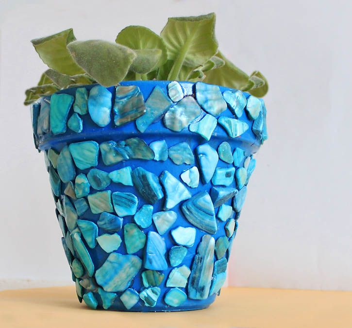 Colourful mosaic designs for your home mosaic flower