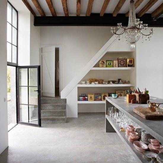 lovely organization pinterest cemento pulido cemento y cocinas