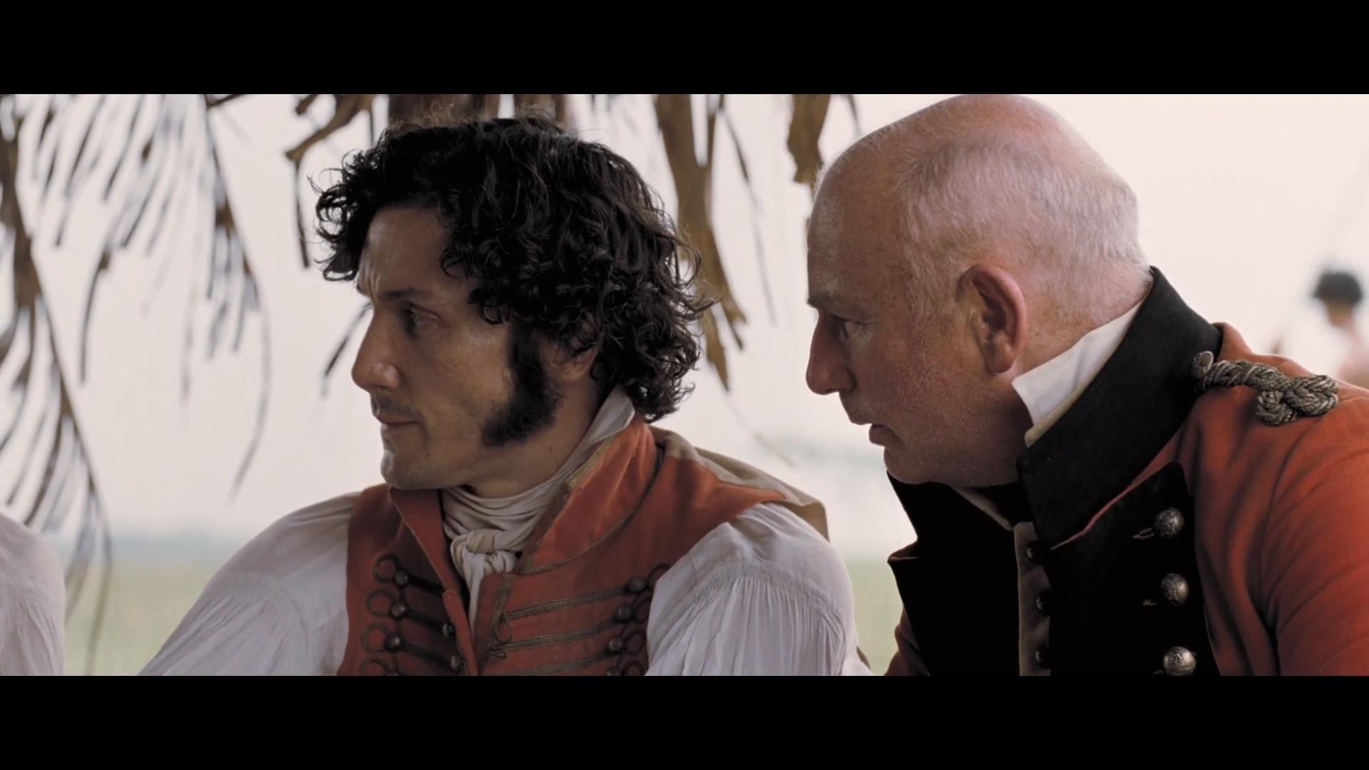 "General Antonio José de Sucre and the commander of the Irish Brigade, colonel James Rooke - ""Libertador/The Liberator"" (2013)"