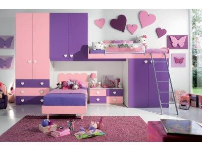 Camerette Colorate ~ Best camerette images bedroom kids kid bedrooms