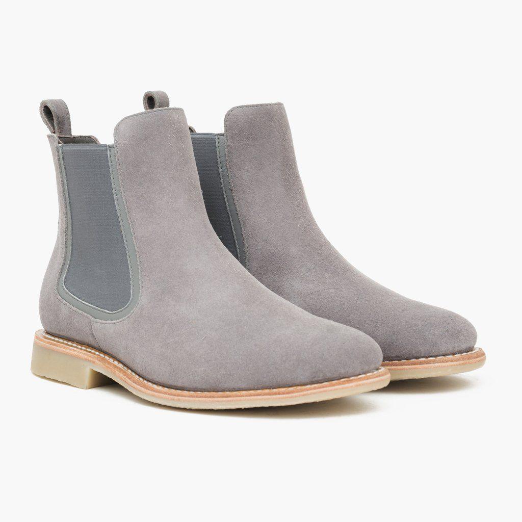 Men's Grey Suede Duke Chelsea Boot