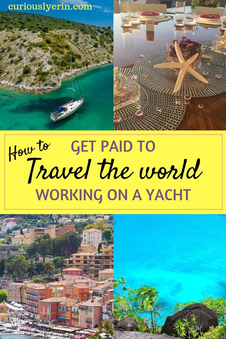 How to a yacht stewardess have a career of fun