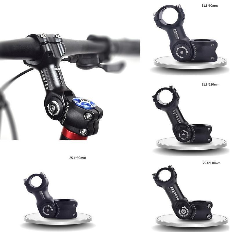 Adjustable Stem NEW Black 25.4mm Bicycle Bike Head Stem Diameter