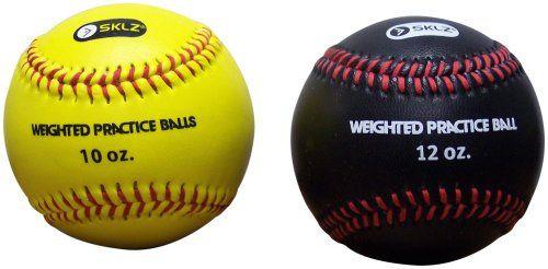 Sklz Weighted Baseballs 2 Pack Yellow 10 Oz Black 12 Oz For Only 11 99 You Save 13 00 52 Baseballs Baseball Training 10 Things