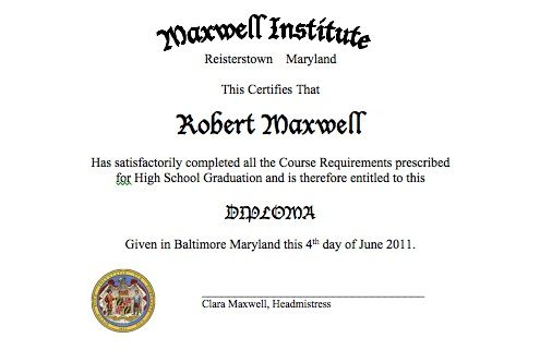 making homeschool graduation special create your own diploma make