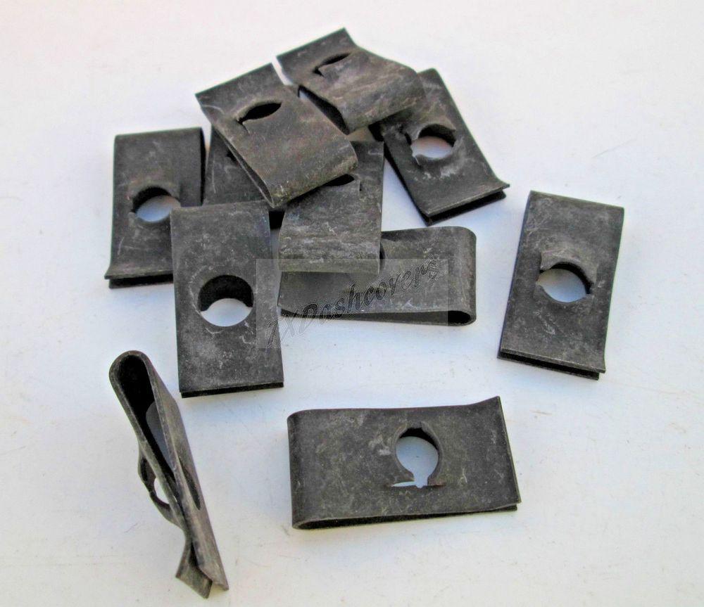 1 4 20 Extruded U Nuts Clips Black 064 125 Panel Range 9 16 Ct Hole To Edge Txdashcovers Extrude Paneling Edges