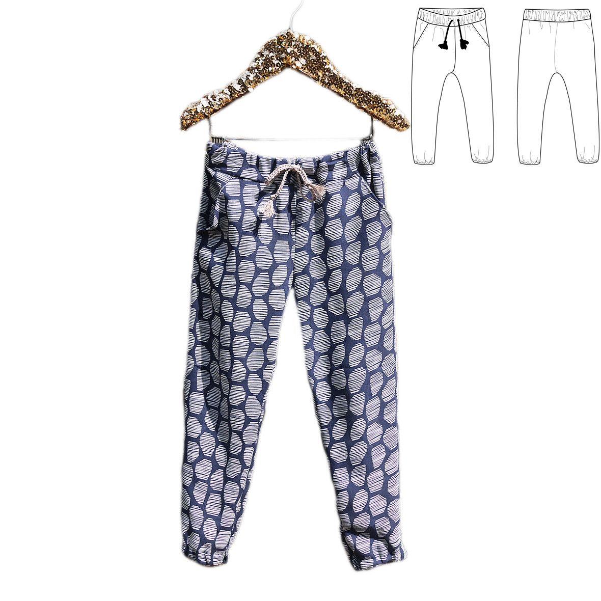 Patron de couture Pantalon ou Short DAKAR
