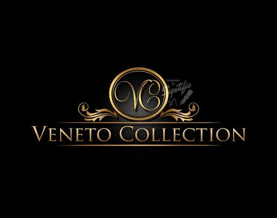 logo design decorative logo frame logo initials logo gold lettering logo