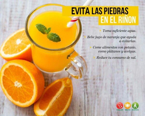 Evita Las Piedras En El Riñón Alimentos Con Potasio Piedras En El Riñon Salud Y Nutricion