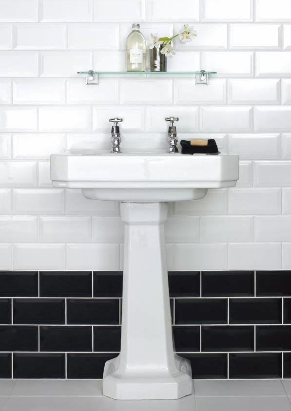 Cómo usar ladrillo tipo \'metro\' en cocinas y baños | Ladrillo, Baño ...