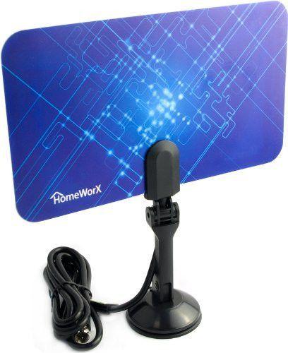 HomeWorx HDTV Digital Flat Antenna UHF / VHF (HW110AN)
