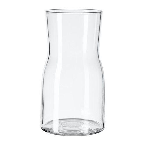 tidvatten vase clear glass cook ikea vase verre vase. Black Bedroom Furniture Sets. Home Design Ideas