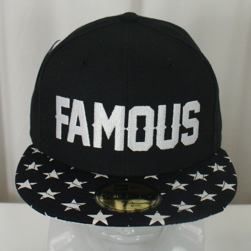 FAMOUS STARS   STRAPS Salute Embroidered New Era 59Fifty Fitted Hat Cap NEW   FAMOUSSTARSANDSTRAPS  NEWERA59FIFTYFITTED 07b796185f0