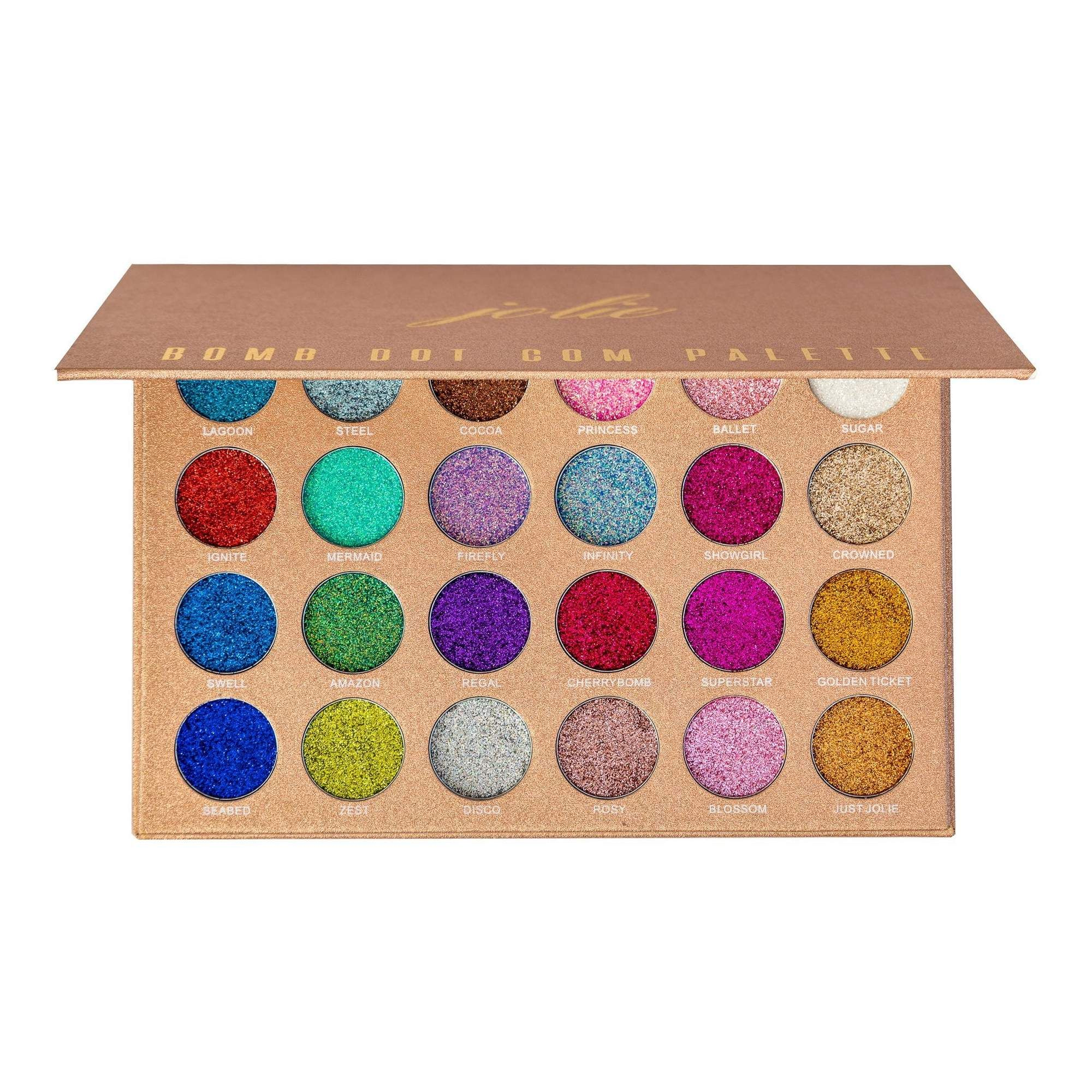 Bomb Dot Com 24 Shade Glitter Palette Cosmetic grade