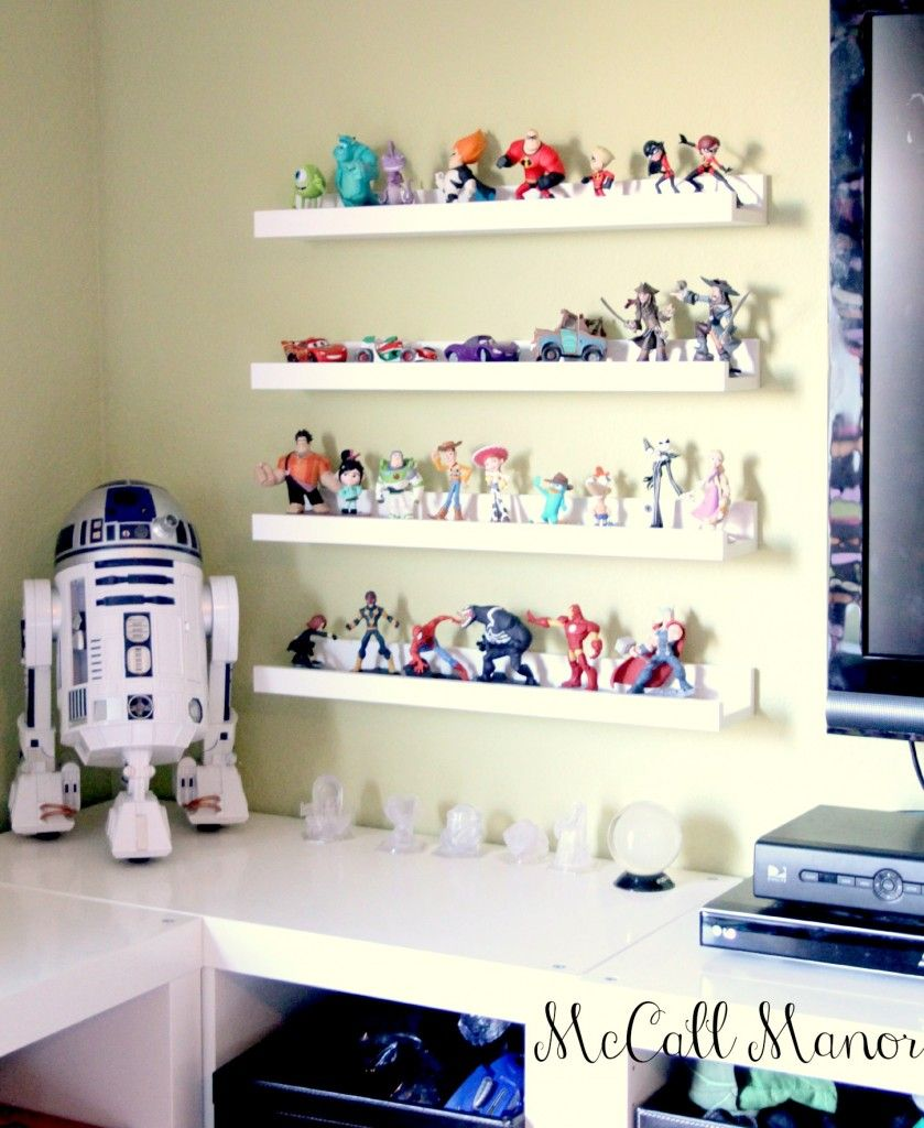Ikea Orlando Large Family Showroom Scenario: Ikea Shelves That Fit Perfectly For Disney Infinity