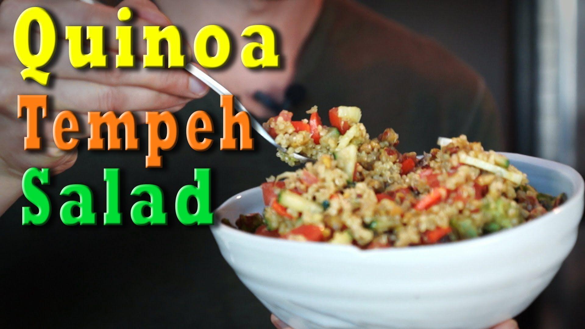 Vegan recipe quinoa tempeh salad foodgasmic recipes pinterest vegan recipe quinoa tempeh salad forumfinder Images