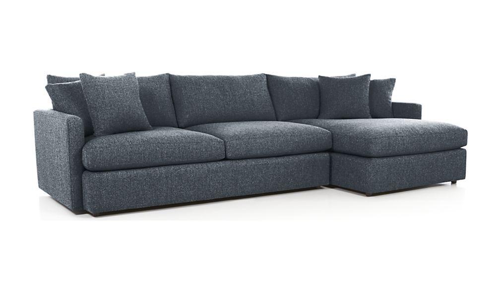 Lounge II 2 Piece Sectional Sofa. Sectional SofasCrate And BarrelMedia ...