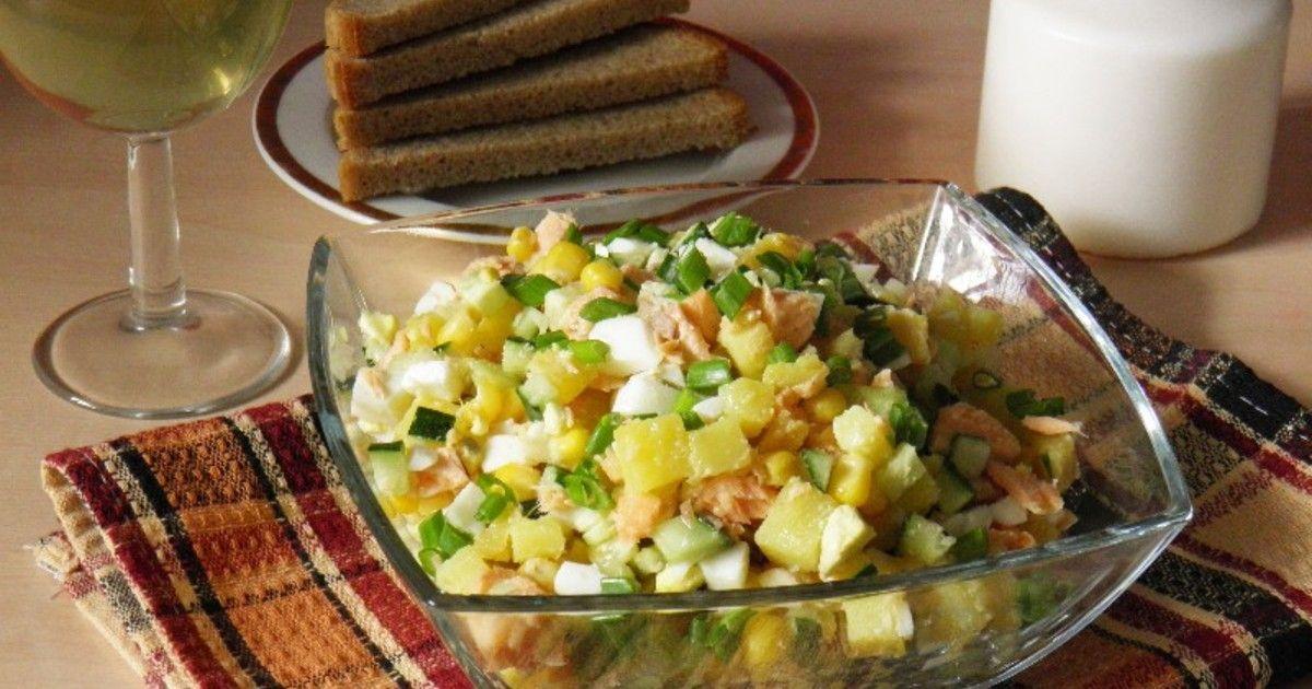 ночью произошло салат из отварной рыбы рецепт с фото сентября