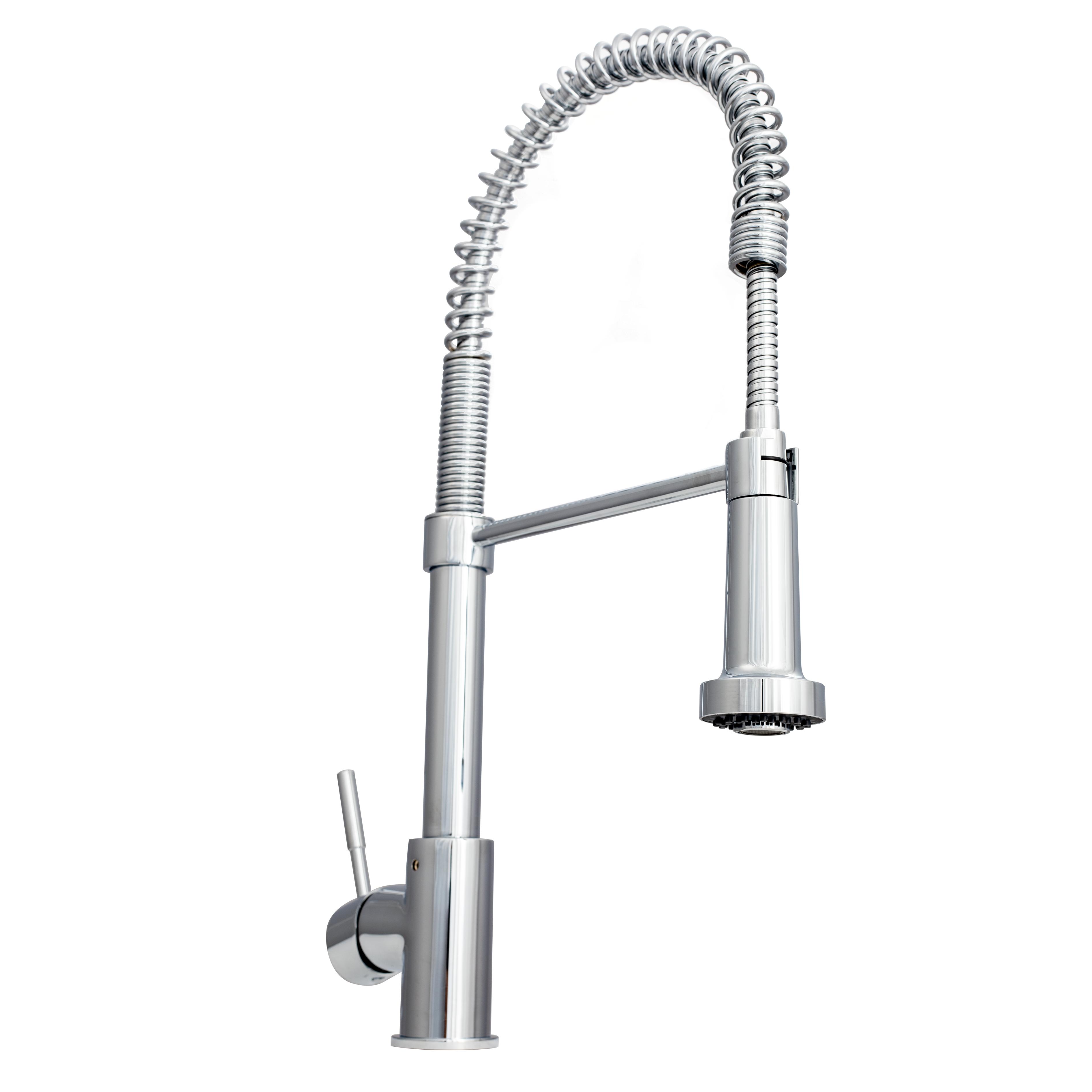 Zline Apollo Kitchen Faucet In Chrome Apl Kf Ch In 2020 Kitchen Faucet Single Handle Kitchen Faucet Kitchen Handles