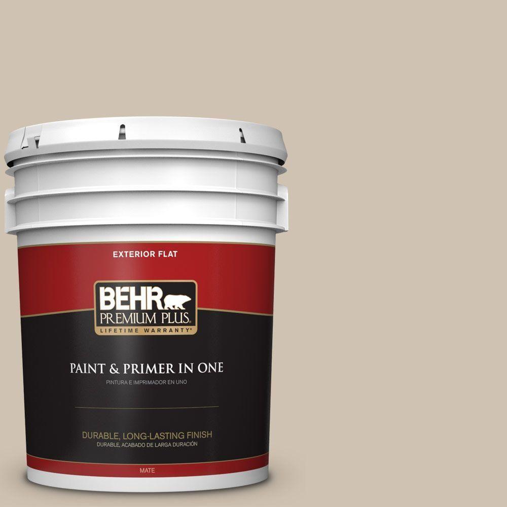 BEHR Premium Plus Home Decorators Collection 5-gal. #hdc-NT-13 Merino Wool Flat Exterior Paint