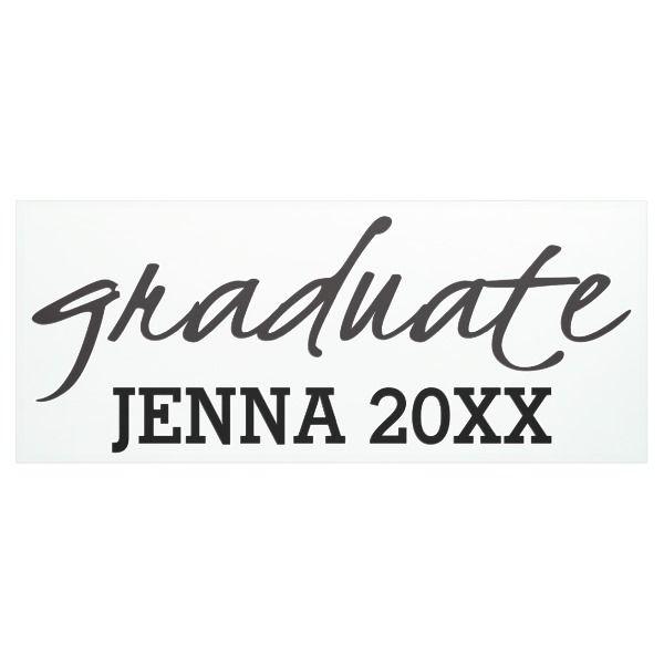 graduate banner graduation banners congratulations graduation