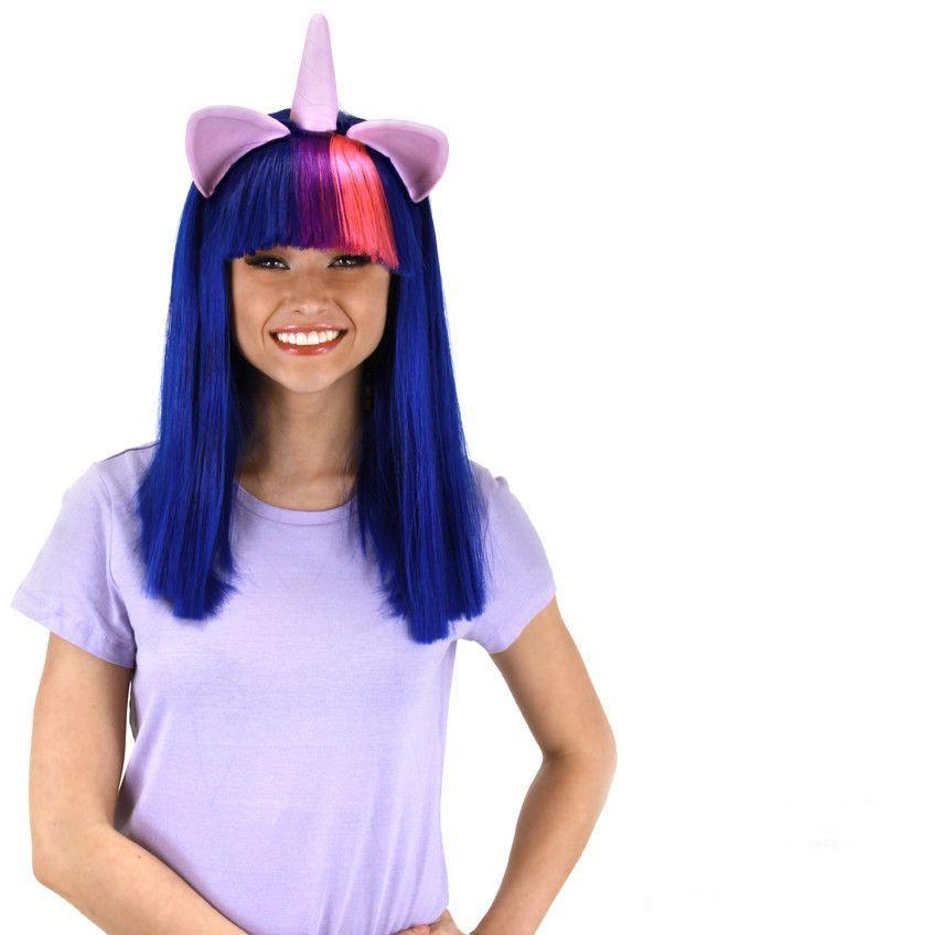 My Little Pony Twilight Sparkle Adult Costume Wig W/Ears u0026 Horn  sc 1 st  Pinterest & My Little Pony Twilight Sparkle Adult Costume Wig W/Ears u0026 Horn ...