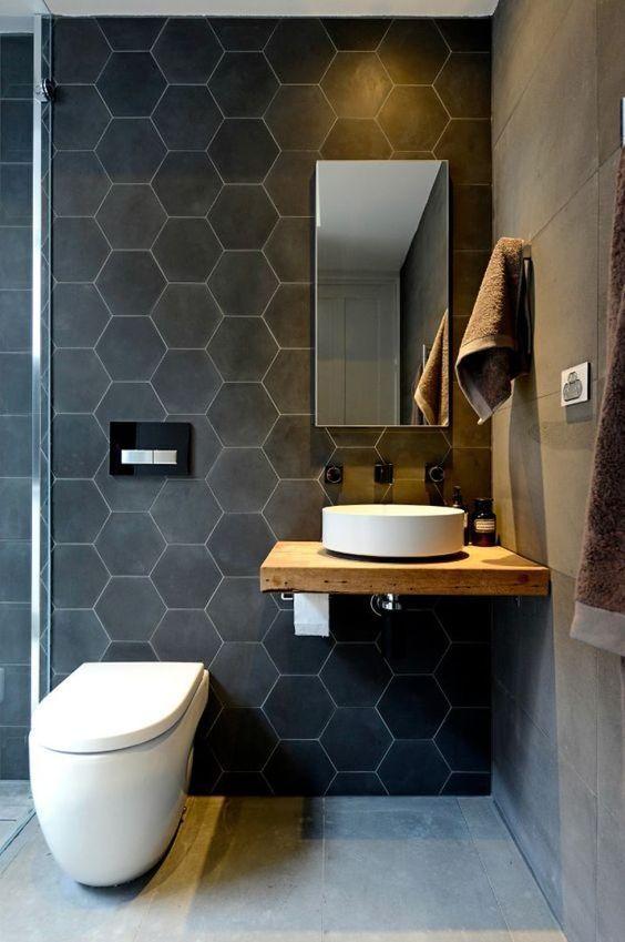 Lavabos para baños con mueble empotrado - sin patas ...