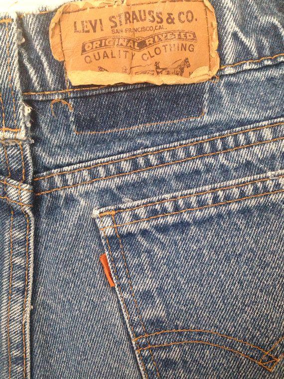 Rare Vintage 1960 S High Waisted Levi S Orange Tab Etsy High Waisted Levis Levi High Waisted
