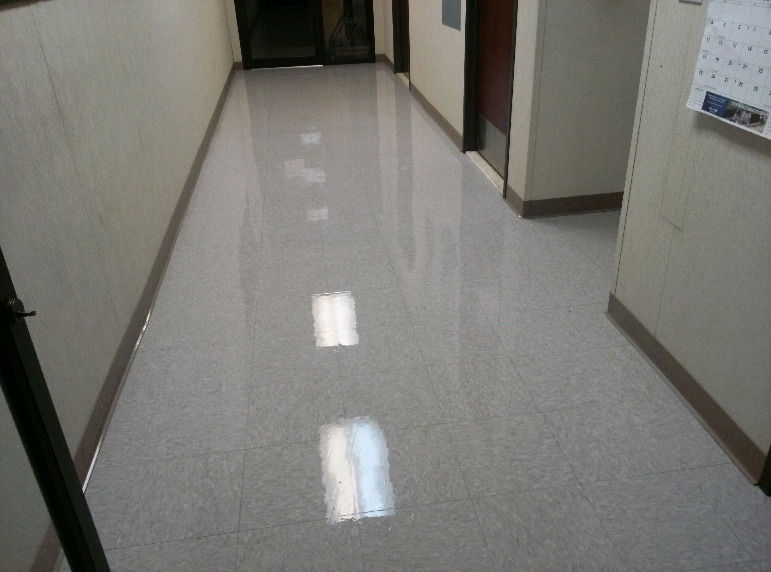 Our Team At All City Building Maintenance Can Strip And Wax The