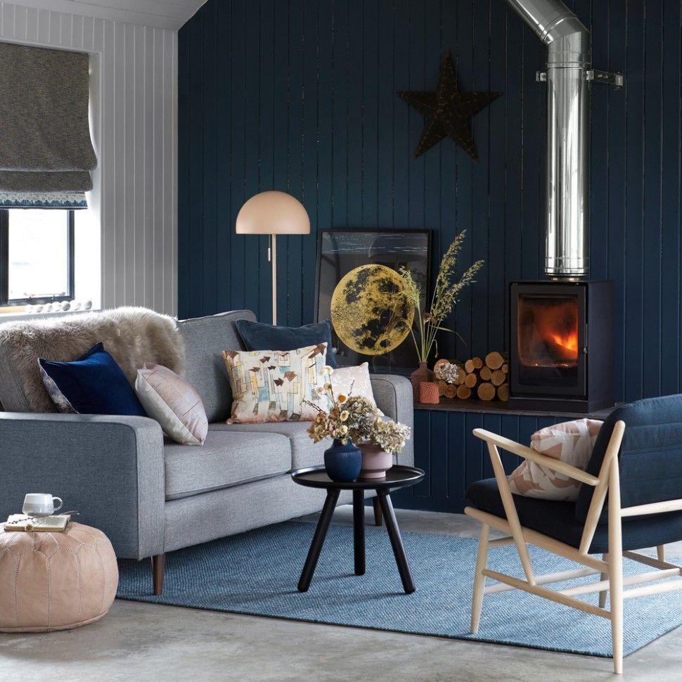 Grey And Ochre Living Room Living Room Grey Blue Living
