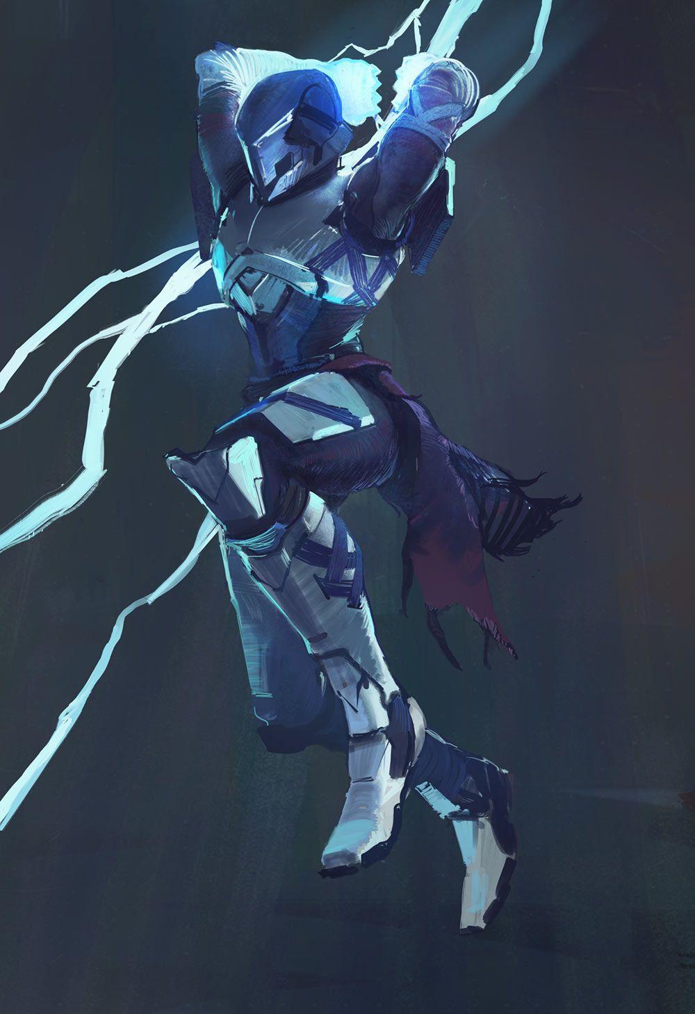 Titan Striker From Destiny 2 Destiny Game Destiny Concept Art