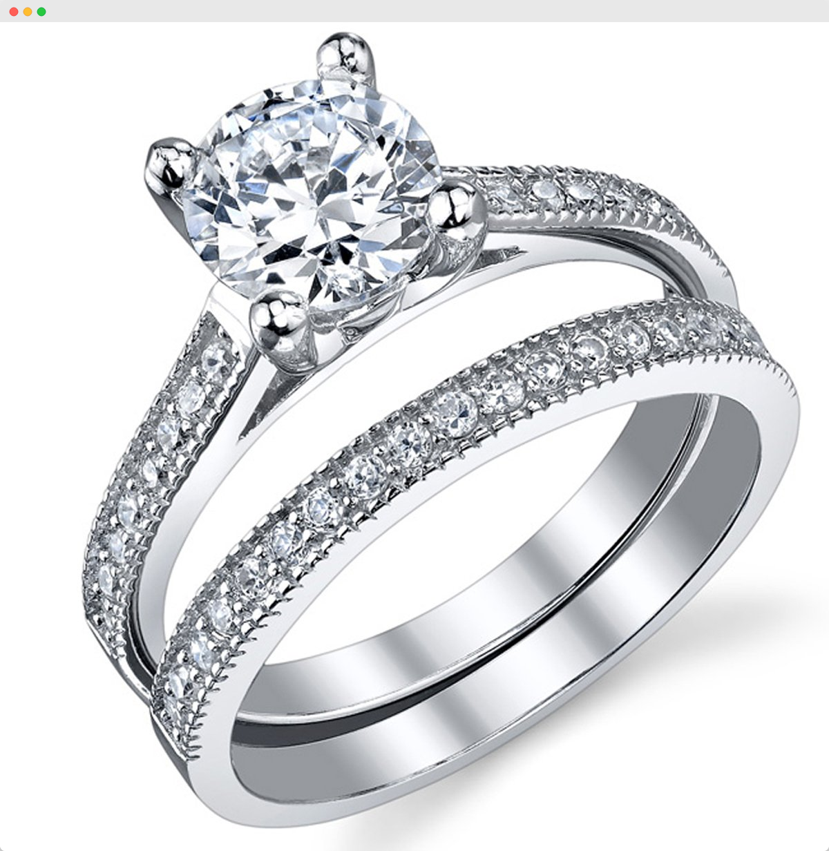 Account Suspended Silver Wedding Rings Engagement Rings Wedding Bands Set Wedding Rings Engagement