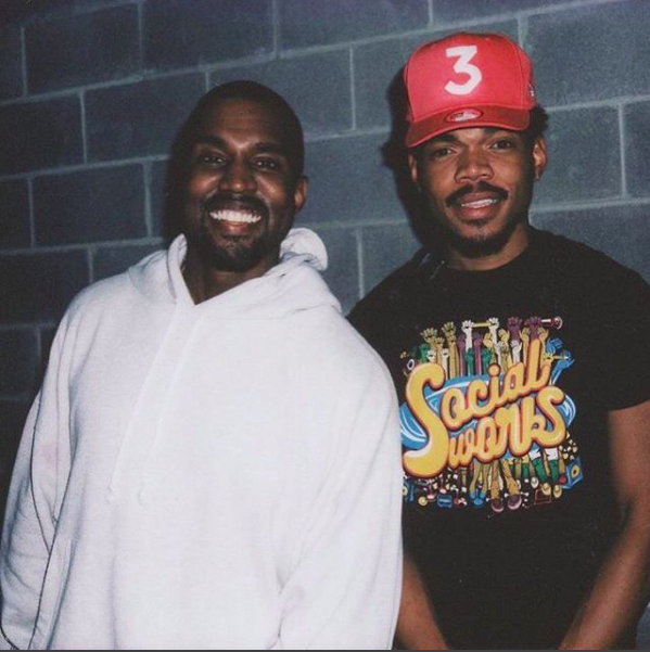 Chance The Rapper Is Making A 7 Song Album With Kanye West Chance The Rapper Kanye West Wallpaper Kanye West