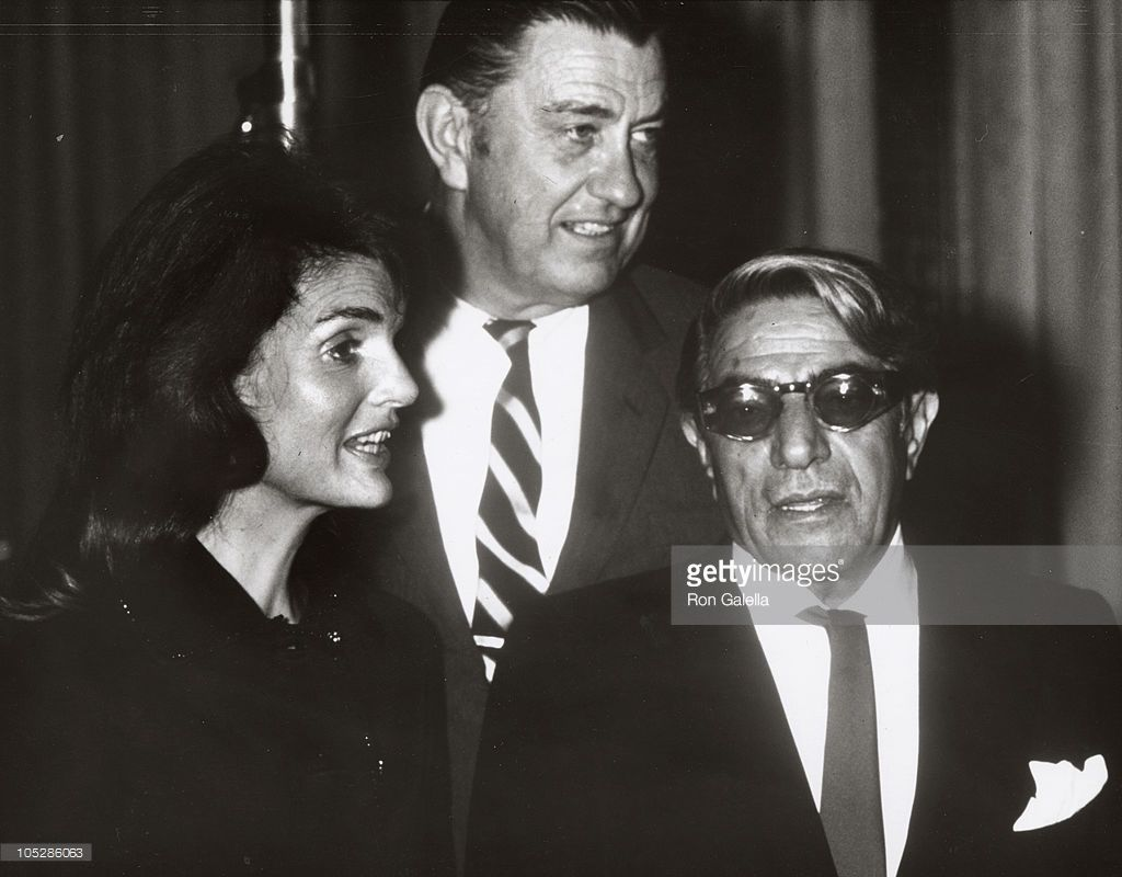 Find This Pin And More On Catching The President's Widow Jackie Kennedy  With Greek Billionaire Tycoon Aristotle Onassis