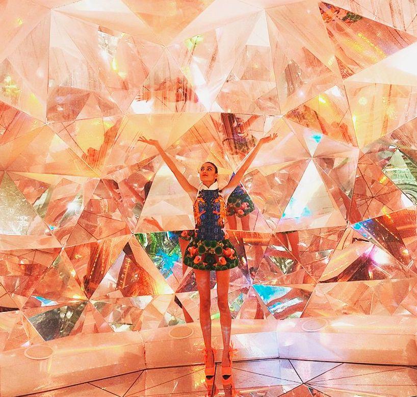 Light Warehouse Sydney: Shirane-Miyazaki's Kaleidoscopic Origami Dome In 2019