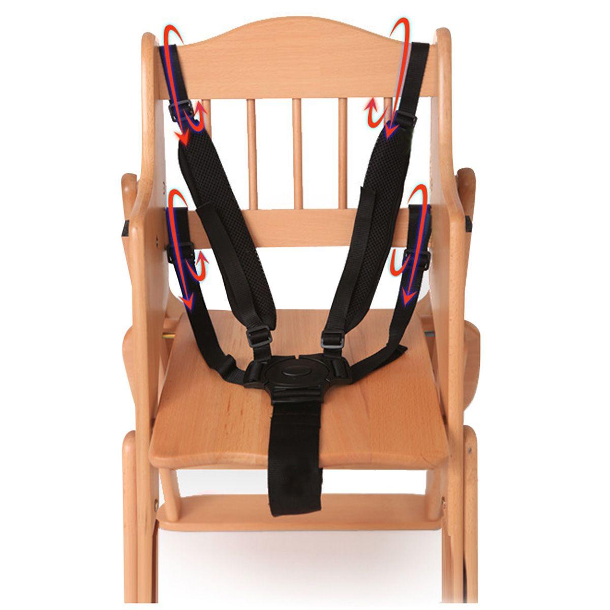 Hoge Stoel Voor Kind.5 Punt Harnas Wandelwagen Hoge Stoel Voor Kinderen Veilig Riem Seat