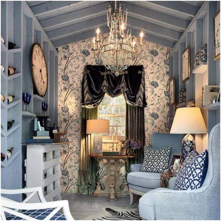 10 She Shed Ideen Das Gartenhaus für die Frau Shabby