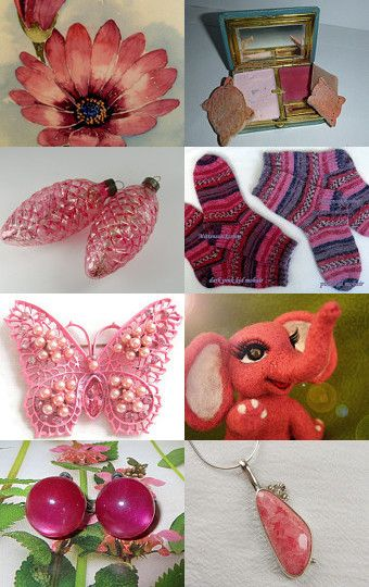 Pink dont Stink~ by Lana Leuschen on Etsy--Pinned with TreasuryPin.com