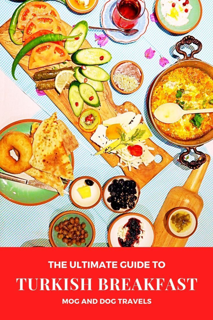 The Ultimate Guide to Turkish Breakfast #turkishbreakfast #breakfast #Guide #Turkish #Ultimate The Ultimate Guide to Turkish Breakfast        There isn't anything as decadent or more delicious than a traditional Turkish 'serpme kahvalti' or 'spread breakfast'. Made up of dozens of small dishes, a Turkish breakfast is a feast for the eyes as well as the stomach. We guide you through one of Turkey's best traditions and give you tips on the best places to get your Turkish breakfast fix. #turkey #turkishbreakfast