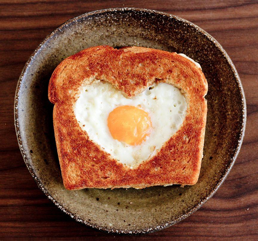 Valentine's Day Egg in a Basket by petitekitchenesse