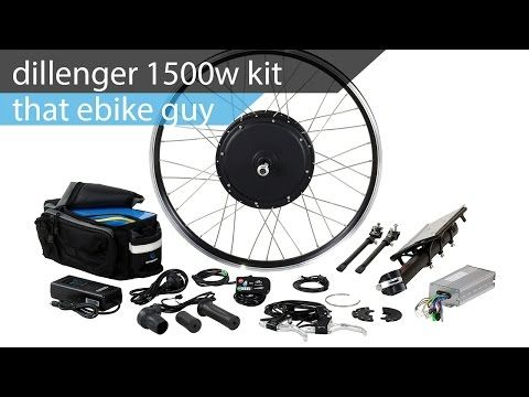 The Dillenger 1500w Electric Bike Kit Complete With A 20ah Samsung Battery Dillenger Ebike Bike Electric Bike Kits