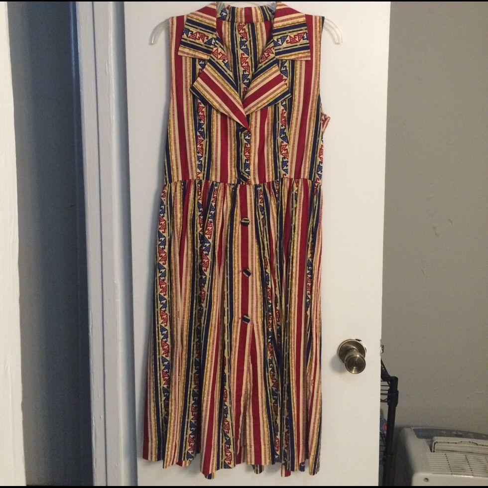 Vintage Shirt-Waist Dress