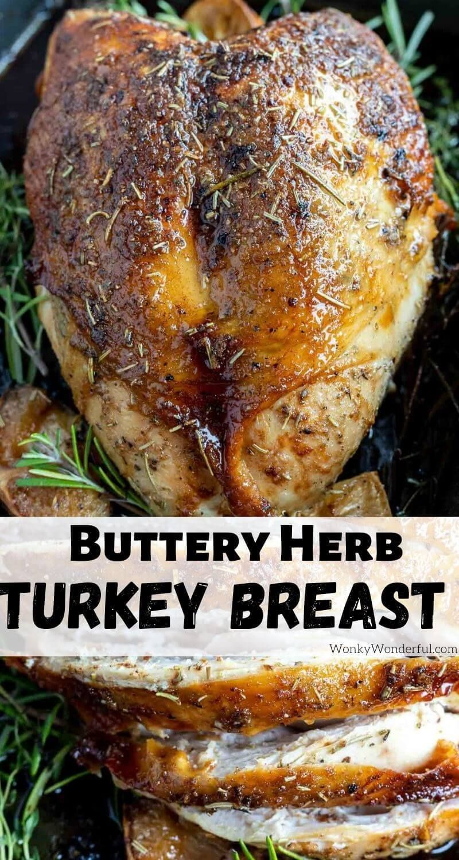 OVEN ROASTED TURKEY BREAST RECIPE + WonkyWonderful -   19 thanksgiving recipes turkey easy ideas
