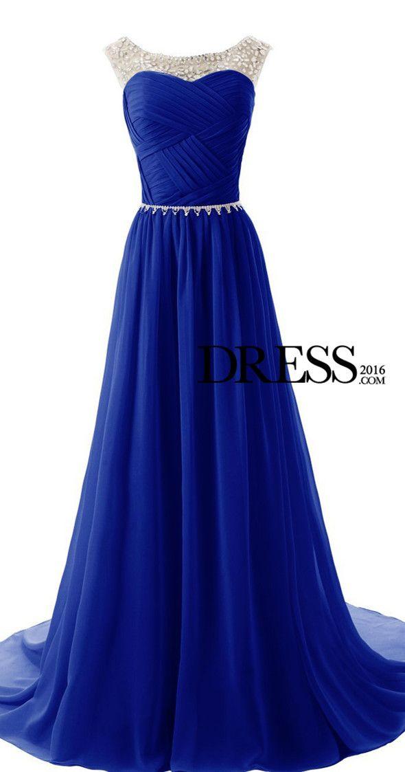 blue prom dress | Vestidos | Pinterest | Vestiditos, Vestidos de ...