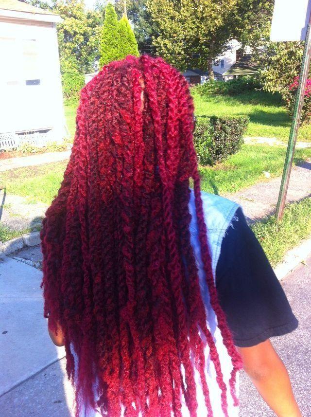 Red Marley Twists
